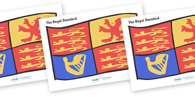 The Royal Standard Display Poster - Royal Wedding, The Royal Wedding, Display poster, display, Prince William, Kate Middleton, The Royal Wedding, April 29th, Queen, Prince philip, marriage