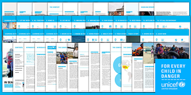 Unicef: The Refugee Crisis in Europe Resource Pack Resource Pack