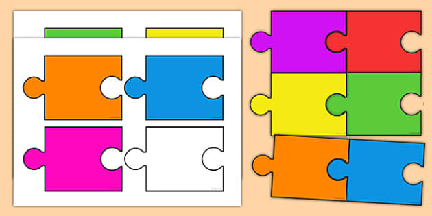 We All Fit Together Class Jigsaw - we all fit together, class name, different, classes, together, community, jigsaw, pieces, fitting together