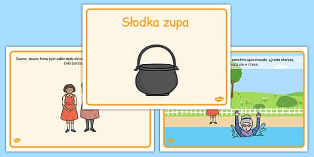 Słodka zupa po polsku - baśnie, bajki, bracia grimm