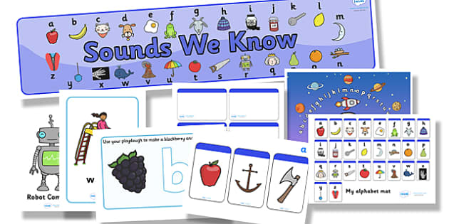 Alphabet and Phase 1 Resource Pack - phase 1, phase one, resource pack, resources, phase 1 resources, phase 1 activities, actvities, word cards, display poster, words