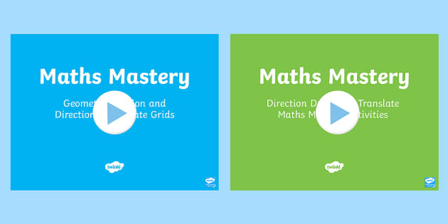 Year 6 Geometry Position and Direction Maths Mastery Activities Resource Pack - Year 6 Maths Mastery, Coordinates, Draw, translate, reflect, reflection, translation,Australia