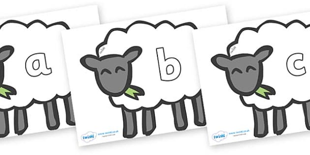 Phase 2 Phonemes on Sheep - Phonemes, phoneme, Phase 2, Phase two, Foundation, Literacy, Letters and Sounds, DfES, display