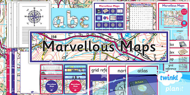 PlanIt - Geography Year 5 - Marvellous Maps Unit Additional Resources