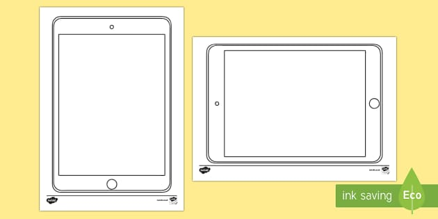 Doodle Draft Tablet Activity Sheet