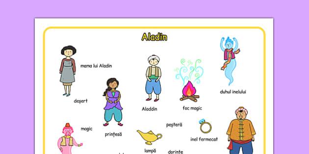 Aladin - Planșă