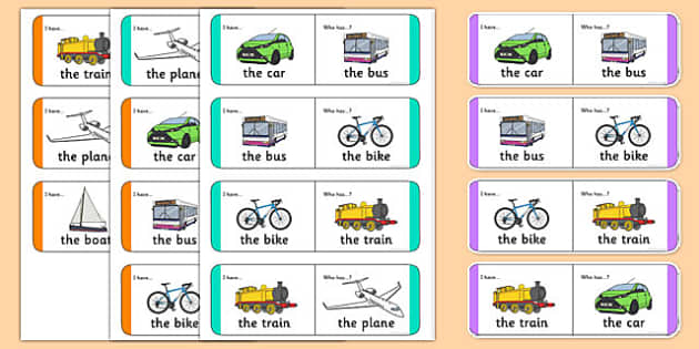 Transport Small Group Loop Cards