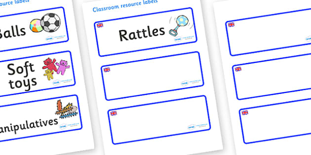 Great Britain Themed Editable Additional Resource Labels - Themed Label template, Resource Label, Name Labels, Editable Labels, Drawer Labels, KS1 Labels, Foundation Labels, Foundation Stage Labels, Teaching Labels, Resource Labels, Tray Labels, Prin
