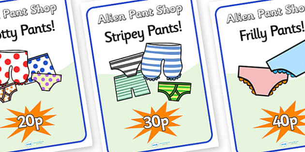 Pant Shop Role Play Posters to Support Teaching on Aliens Love Underpants - paint, shop, role, play, posters, paint shop posters, role play poster, role play, paint shop role play, poster in paint shop