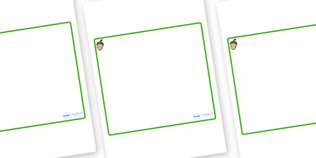 Acorn Themed Editable Classroom Area Display Sign - Themed Classroom Area Signs, KS1, Banner, Foundation Stage Area Signs, Classroom labels, Area labels, Area Signs, Classroom Areas, Poster, Display, Areas