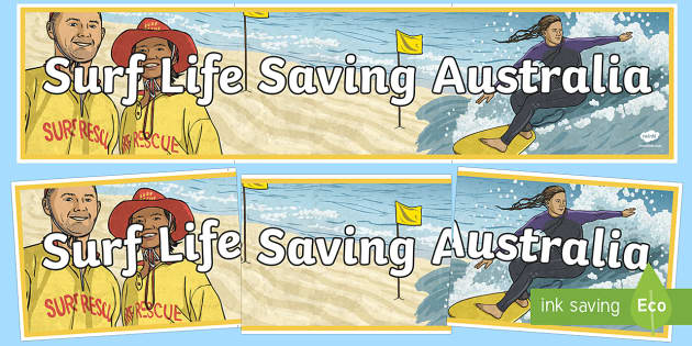 Surf Life Saving Australia Display Banner - Surf Life Saving Australia, life saving, charity, community, coast, drowning, saving lives, sea, oce