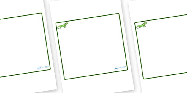 Iguana Themed Editable Classroom Area Display Sign - Themed Classroom Area Signs, KS1, Banner, Foundation Stage Area Signs, Classroom labels, Area labels, Area Signs, Classroom Areas, Poster, Display, Areas