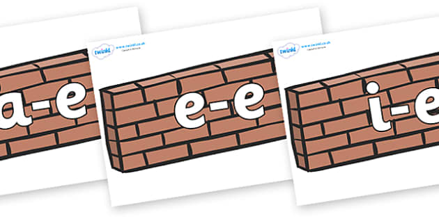 Modifying E Letters on Walls - Modifying E, letters, modify, Phase 5, Phase five, alternative spellings for phonemes, DfES letters and Sounds