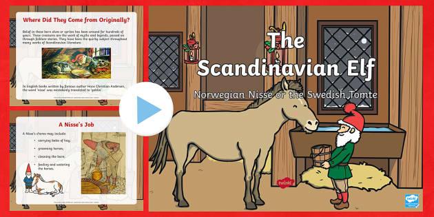 The Scandinavian Elf PowerPoint-Australia