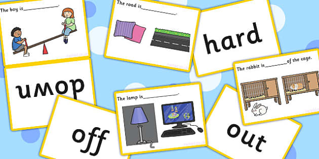 Complete The Sentence Basic Concepts Matching Cards Activity (Set Two) - concept, SEN