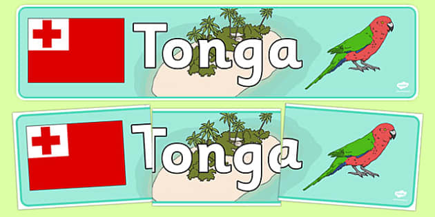 Tonga Display Banner - Tonga, Olympics, Olympic Games, sports, Olympic, London, 2012, display, banner, sign, poster, activity, Olympic torch, flag, countries, medal, Olympic Rings, mascots, flame, compete, events, tennis, athlete, swimming