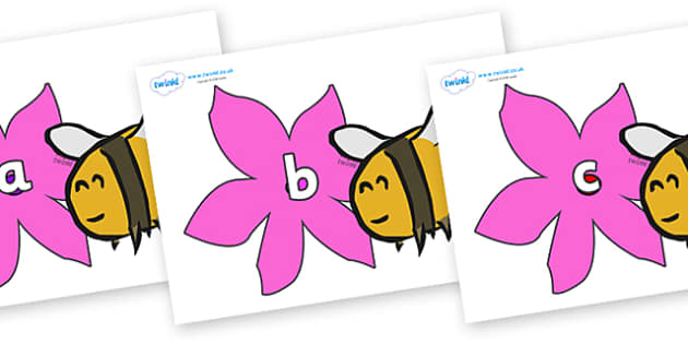 Phase 2 Phonemes on Bees - Phonemes, phoneme, Phase 2, Phase two, Foundation, Literacy, Letters and Sounds, DfES, display