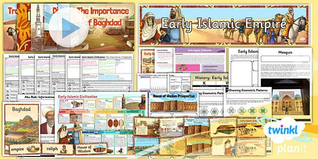 PlanIt - History UKS2 - Early Islamic Civilisation Unit Pack - planit, history, early islamic civilisation