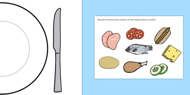 Healthy Eating Meal Activity French - french, healthy, healty eating, sort, activity, fruit, game, vegetable, healthy food, how to eat healthy, food, sorting