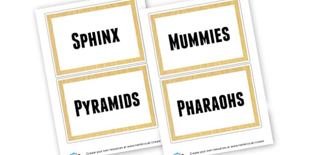 Egypt group signs - Ancient Egypt Classoroom Signs and Labels Primary Resources - KS2