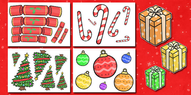 Size Ordering at Christmas - Christmas, xmas, size ordering, size, order, ordering, advent, nativity, santa, father christmas, Jesus, tree, stocking, present, activity, cracker, angel, snowman, advent , bauble sorting, large, small, counting
