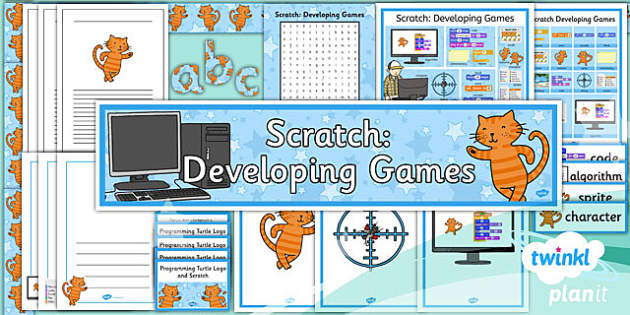 PlanIt - Computing Year 5 - Scratch Developing Games Unit Additional Resource Pack