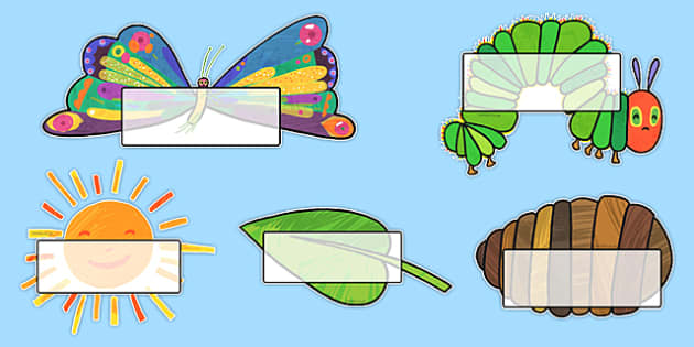 Self Registration to Support Teaching on The Very Hungry Caterpillar - australia, hungry, caterpillar