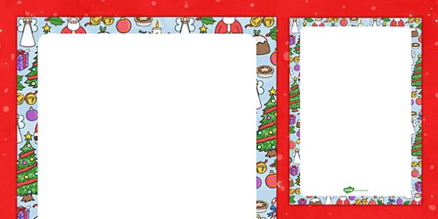 Christmas Themed Editable Display Poster - christmas, editable, display, poster