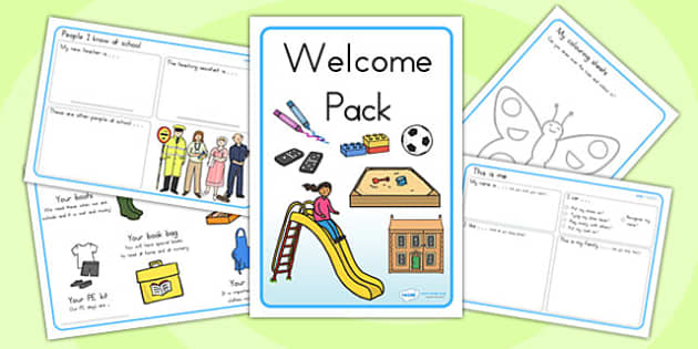 Foundation and Pre Primer Welcome Pack - welcome, classroom pack