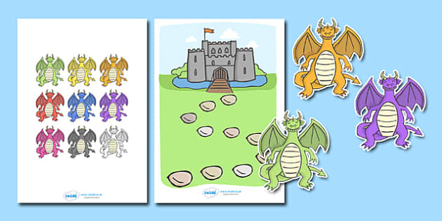 Dragon Reward Chart - Reward Chart, education, home school, child development, children activities, free, kids, chart for free