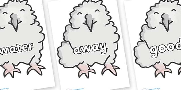 Next 200 Common Words on Baby Owls - Next 200 Common Words on  - DfES Letters and Sounds, Letters and Sounds, Letters and sounds words, Common words, 200 common words