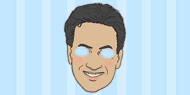 Ed Miliband Role Play Mask - roleplay, mask, ed, miliband, play