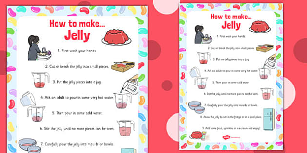 Jelly Recipe Poster - jelly recipe, poster, display, jelly, recipe