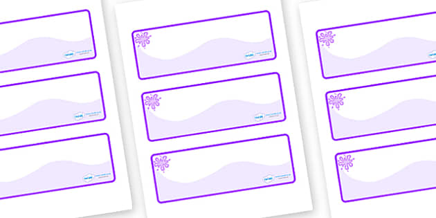 Purple Themed Editable Drawer-Peg-Name Labels (Colourful) - Themed Classroom Label Templates, Resource Labels, Name Labels, Editable Labels, Drawer Labels, Coat Peg Labels, Peg Label, KS1 Labels, Foundation Labels, Foundation Stage Labels, Teaching L