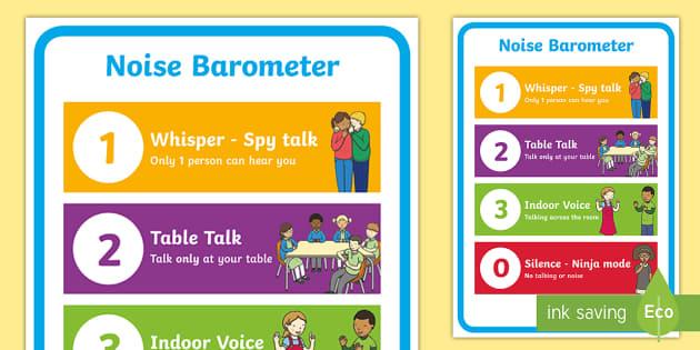 Noise Barometer