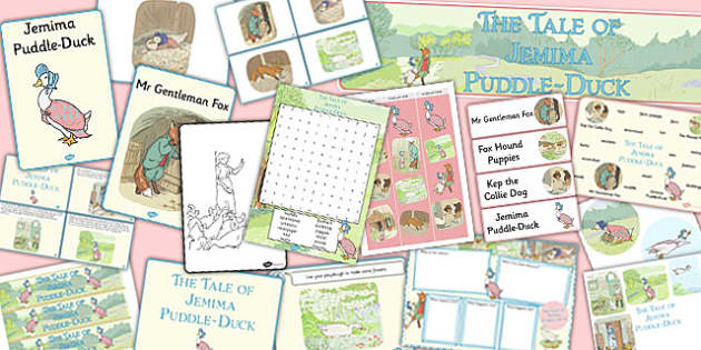 The Tale of Jemima Puddle-Duck Resource Pack - jemima puddle-duck