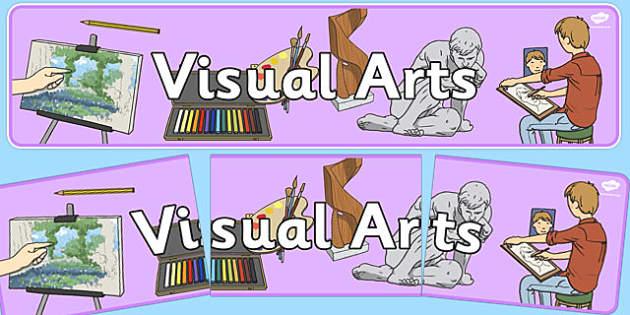 Visual Arts Display Banner NZ - new zealand, visual arts, display banner, display, banner