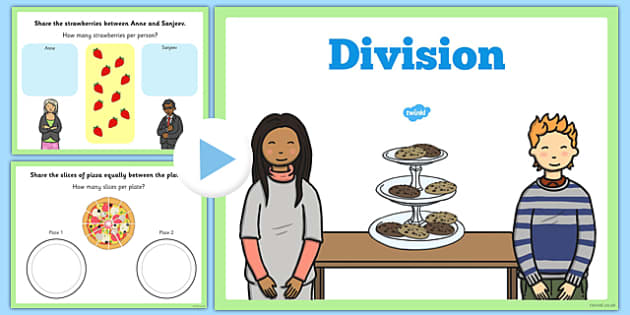 Maths KS1 Introducing Division Activity PowerPoint - maths, ks1