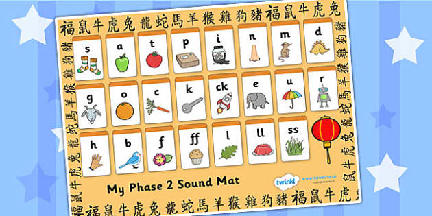 Chinese New Year Phase 2 Sound Mat - chinese, new year, phases