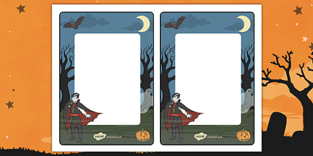 Halloween Editable Notes From Teacher - halloween, editable note, editable, notes, writing, classroom notes, themed note, teacher notes, themed pages, page
