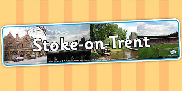 Stoke on Trent Display Banner - stoke, stoke on trent, banner