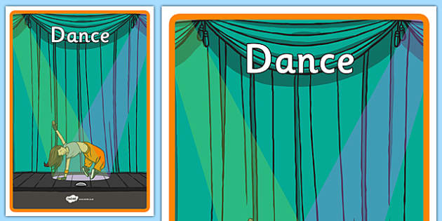 Australian Curriculum Dance Book Cover - book cover, front page, title page, subject. Australian Curriculum, labels, dance, dancing, move