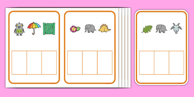 Secret Word Phonics Game Phase 2 - phase 2 sounds, phoneme frames, phonics game, secret word, initial sound, letters and sounds, blending, single sounds