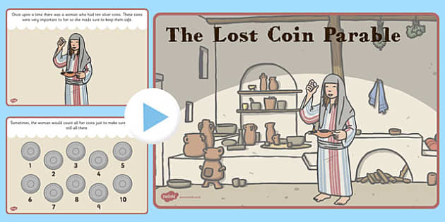 The Lost Coin Parable PowerPoint - lost coin, parable, powerpoint