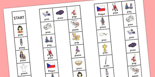 PR Sound Board Game - sen, sound, pr sound, pr, sen, board game, board, game