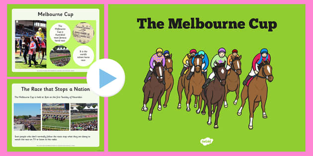 The Melbourne Cup PowerPoint - australia, melbourne cup, powerpoint