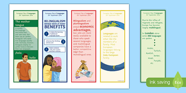 Interesting Facts about Languages in English Bookmarks