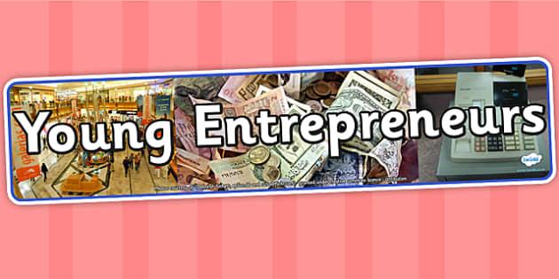 Young Entrepreneurs IPC Photo Display Banner - IPC, banner, photo