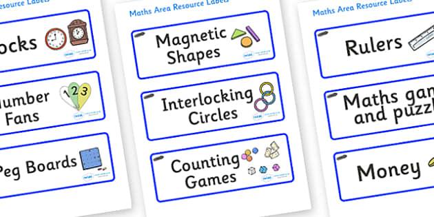Tadpoles Themed Editable Maths Area Resource Labels - Themed maths resource labels, maths area resources, Label template, Resource Label, Name Labels, Editable Labels, Drawer Labels, KS1 Labels, Foundation Labels, Foundation Stage Labels, Teaching La