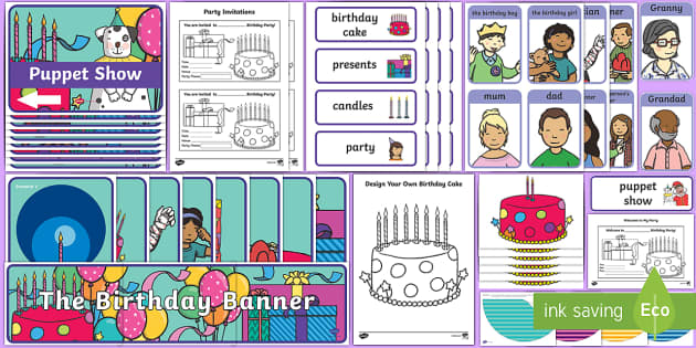 Aistear Pack The Birthday Party Display Pack